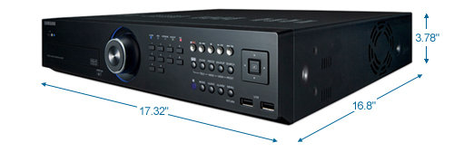 samsung srd-850dc 8ch 1tb digital video recorder