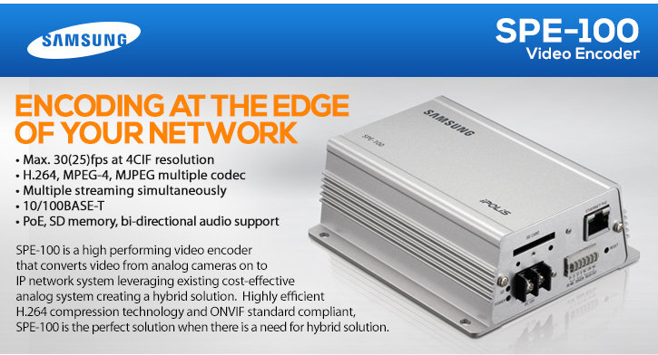 samsung spe-100 video encoder