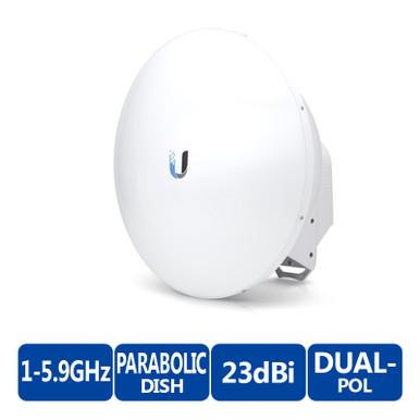 Ubiquiti airFiber AF-5G23-S45-US 5GHz Dish Antenna - 23dBi, Slant 45