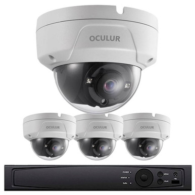 Church Security Camera System 1080p Hd Resolution 4 X