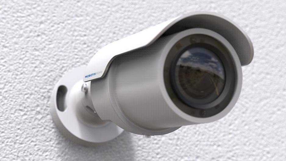 Mobotix Mx-BC1A-4-IR 4MP IR Outdoor Bullet IP Security Camera with 3-9mm Varifocal Lens
