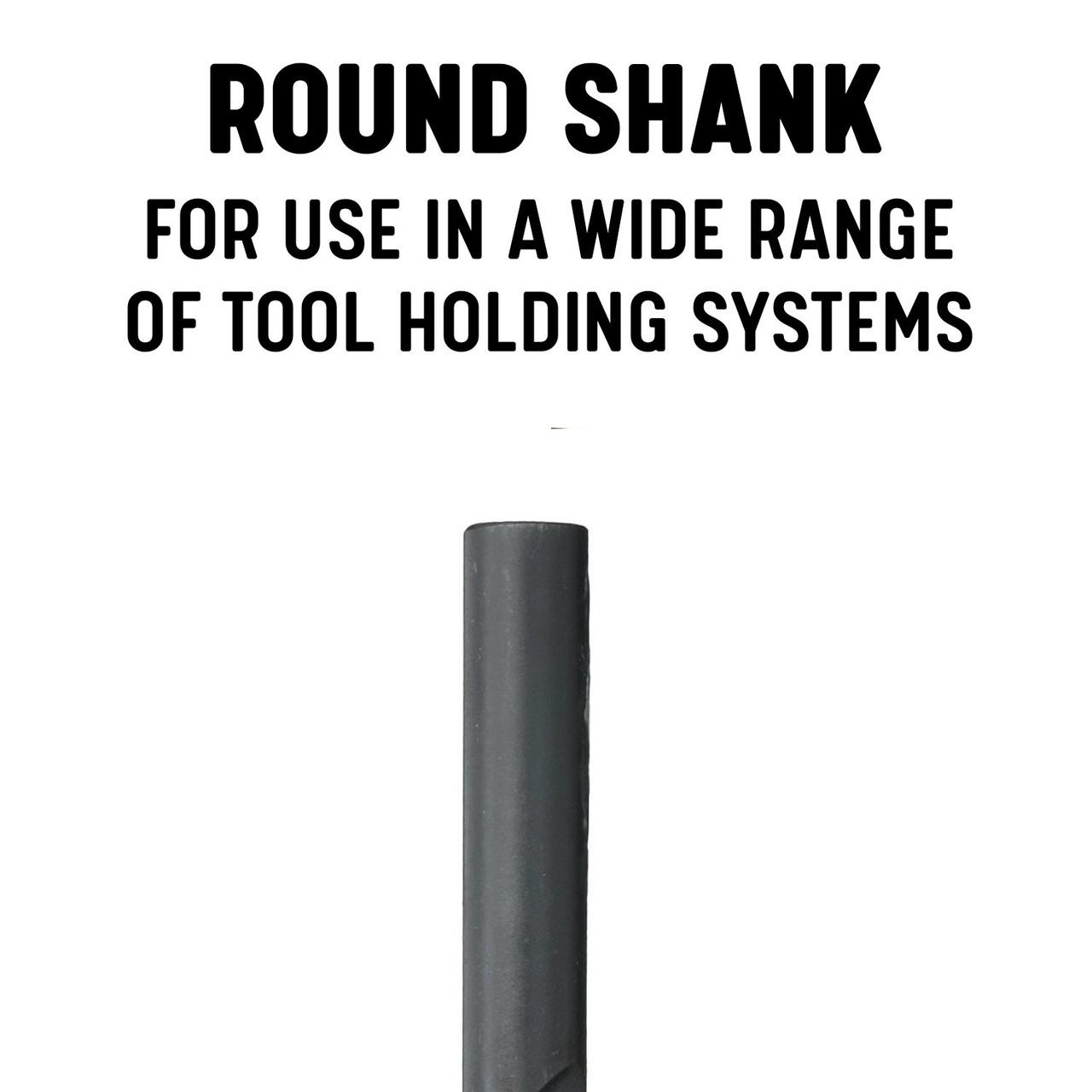 DWDDL18X9//16 Qualtech 9//16 x 18 HSS Extra Long Drill Bit Straight Shank