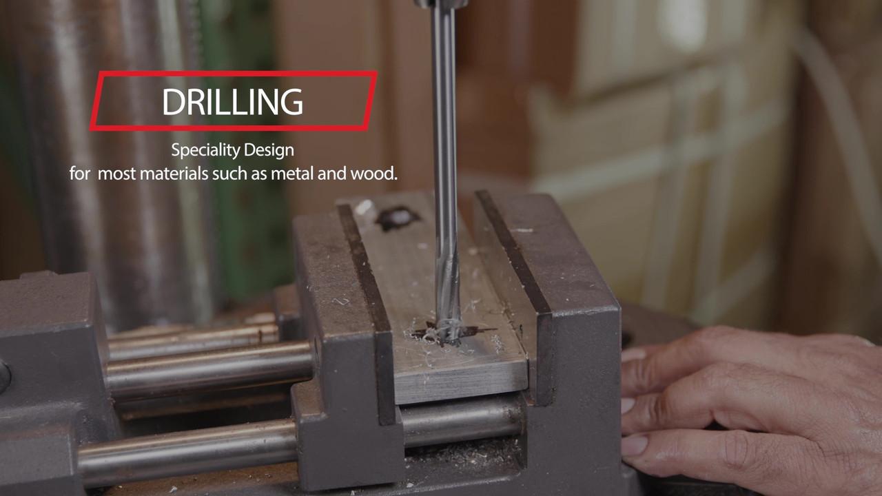 Drill America .2640 High Speed Steel Straight Shank Chucking Reamer DWR Series