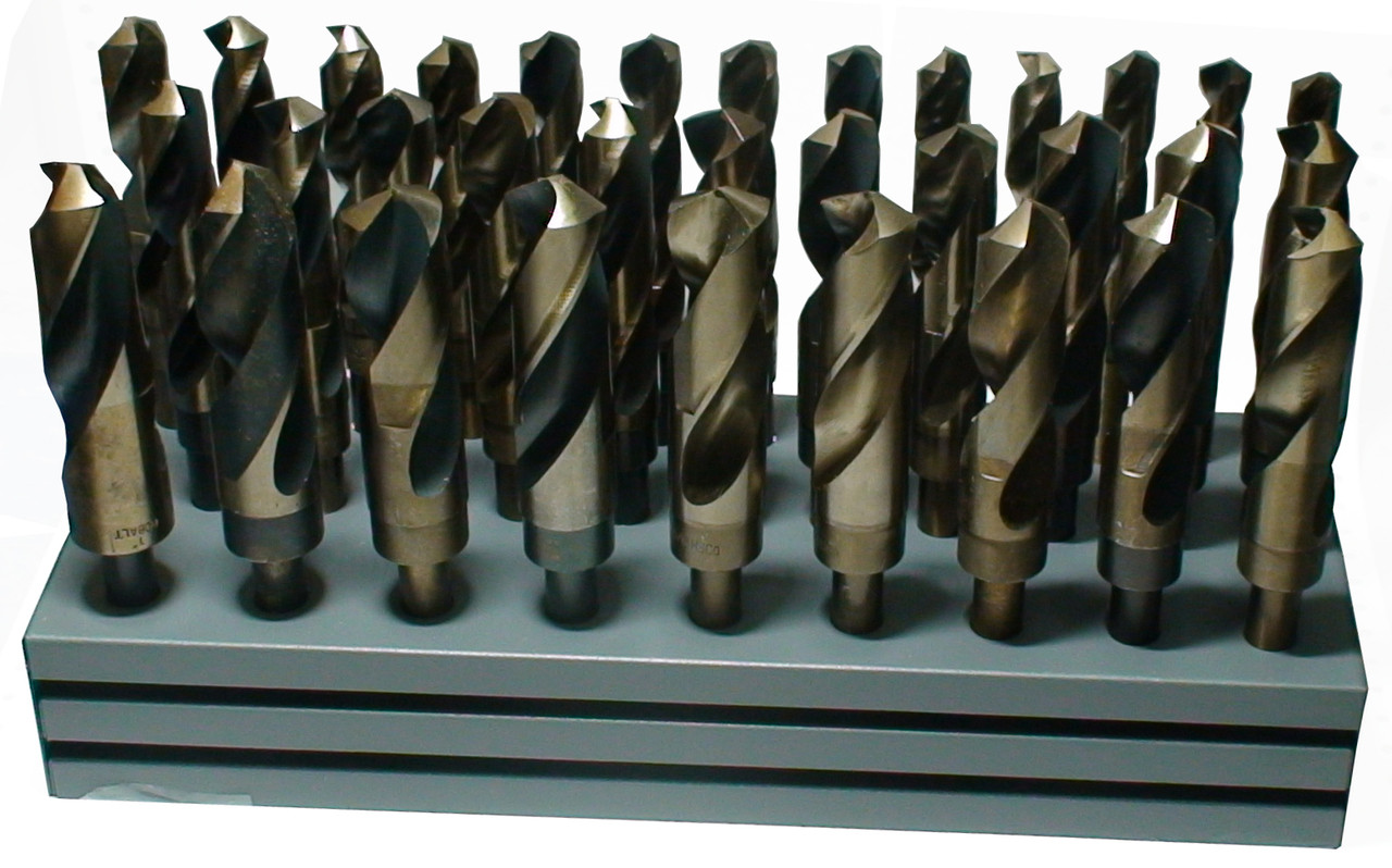 9//16 1//2 Reduced Shank Cobalt Silver and Deming Drill Bit Qualtech