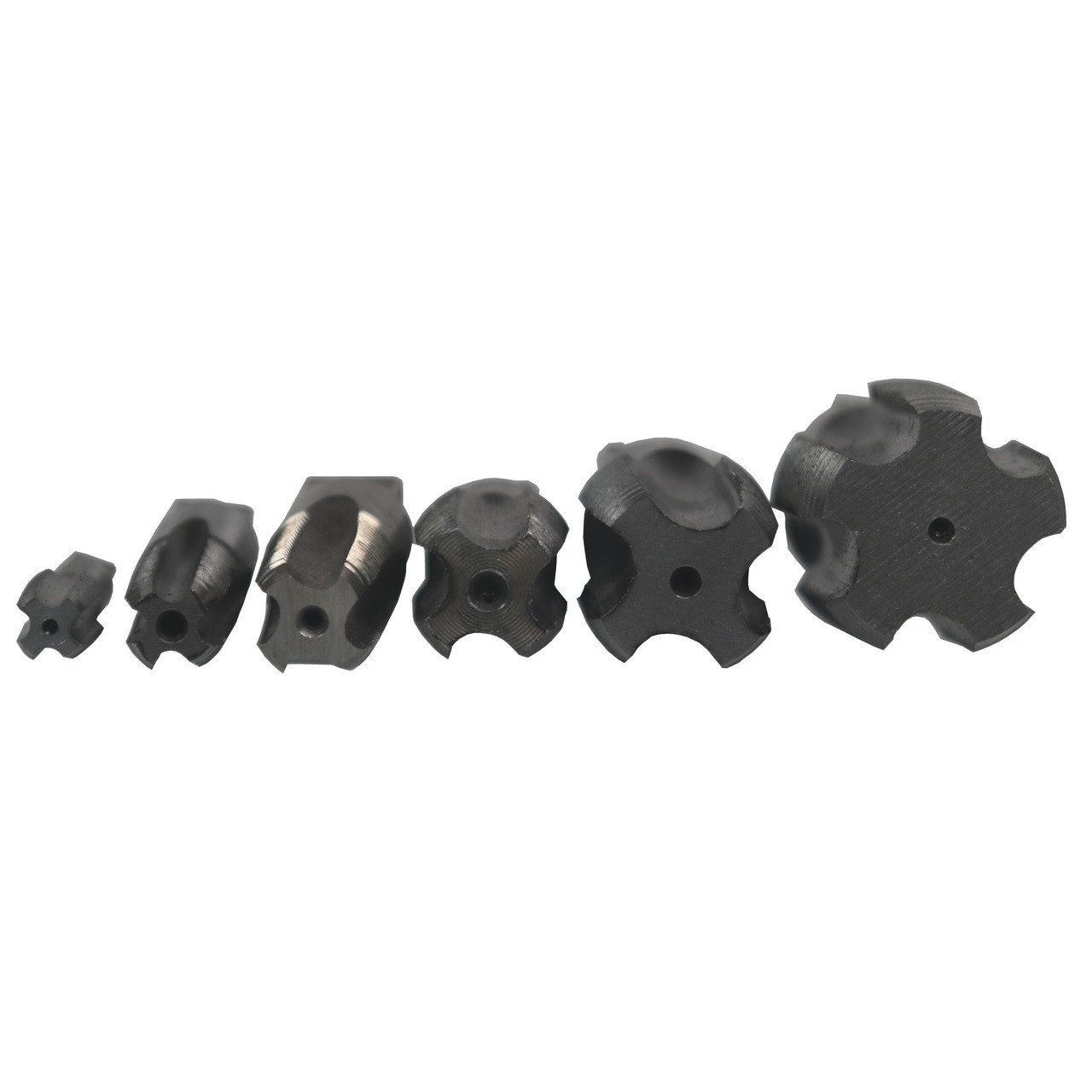 """5 Piece NPT Pipe Tap Set 1//8/"""", 1//4/"""", 3//8/"""", 1//2/"""" and 3//4/"""" Plastic Pouch Case PO"""