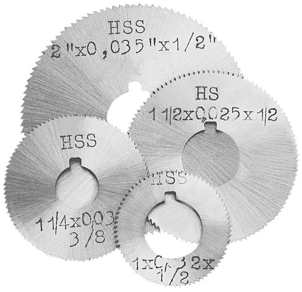 2-3/4 x .114 x 1 HSS Screw Slotting Saw