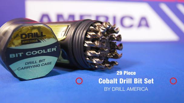 Alfa Tools J250116C 19//64 High-Speed Steel Jobber Drill in Black Oxide 118/° Point 1 Per Card