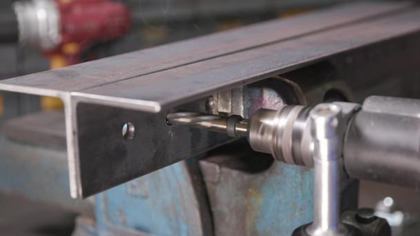 1-9//16 HSS 4MT Spiral Flute Bridge Reamer