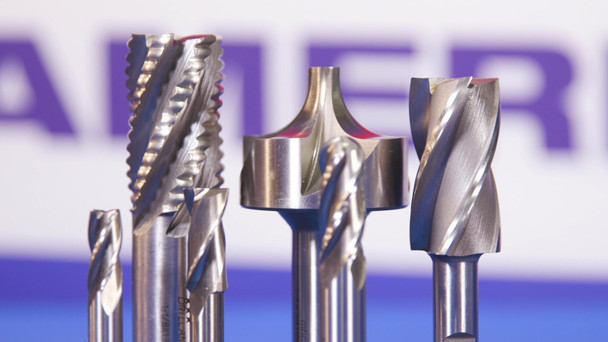 1.50mm Carbide 4 Flute 3.00mm Flute Length 38.00mm Overall Length TIN Single End Ball End Mill, Drill America