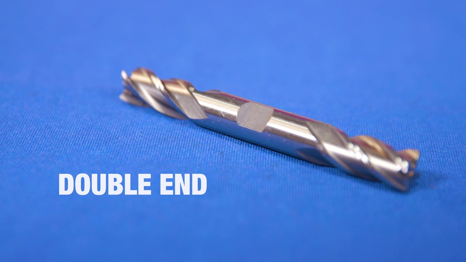 Drill America CBD 3//64 Cobalt End Mill 2 Flute Uncoated Stub Miniature Double End