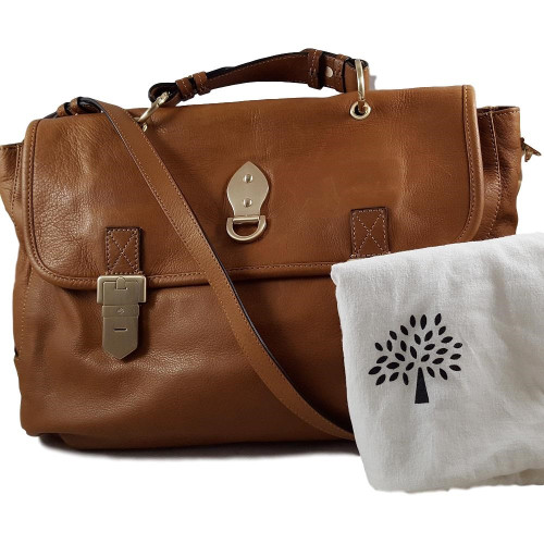 Mulberry Tillie Oversized Satchel Butter Soft Leather - Authenticated