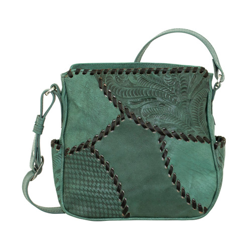 American West Womens Gypsy Patch All Access Crossbody Bag