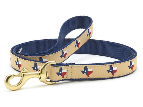 Up Country Texas Navy Standard Dog Lead Leash