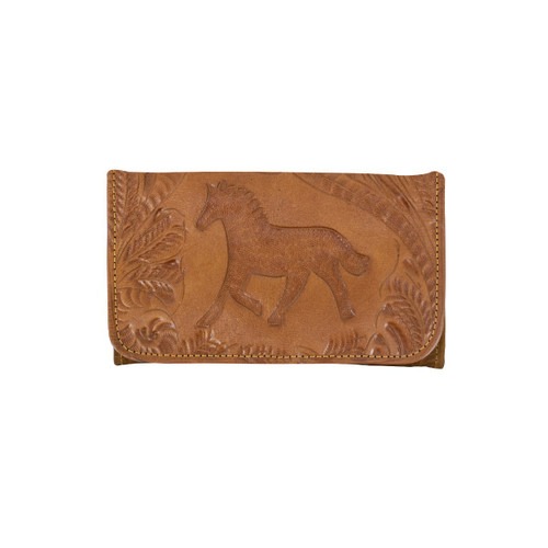 American West Hitchin' Post Ladies' Tri-Fold Wallet