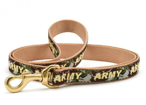 Up Country Dogs on Deployment Canine Camo Standard Leads Leashes
