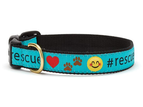 Up Country Rescue Ribbon Dog Collar
