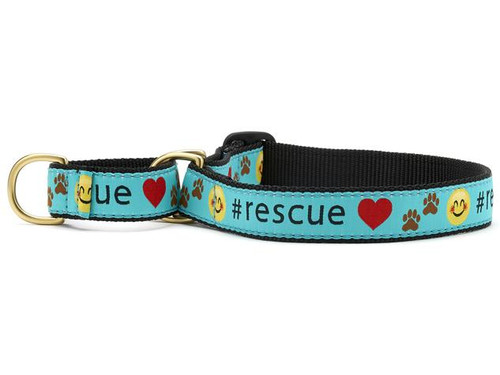 Up Country Rescue Martingale Dog Collar