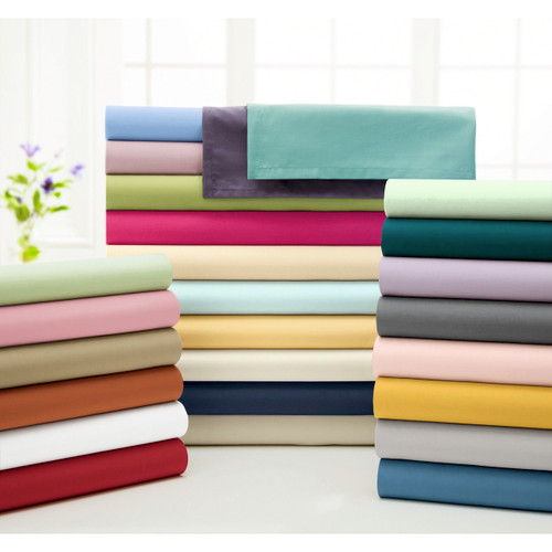 200-Thread Count Percale Flat Sheet