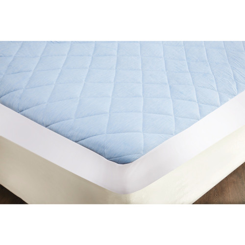 Cool Blue Cooling Gel Mattress Topper Protector