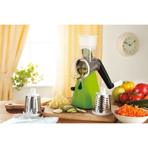 Manual Rotary Cutter-Grater-Slicer