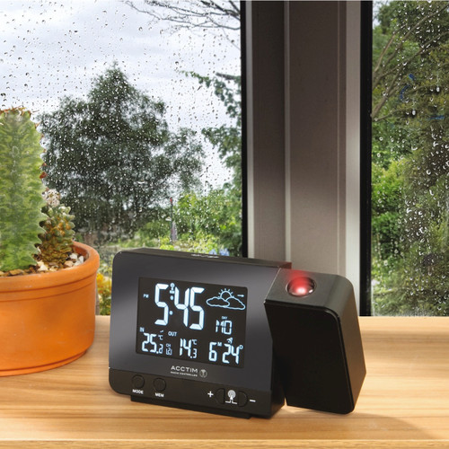 Radio Controlled Alarm Clock and Weather Station