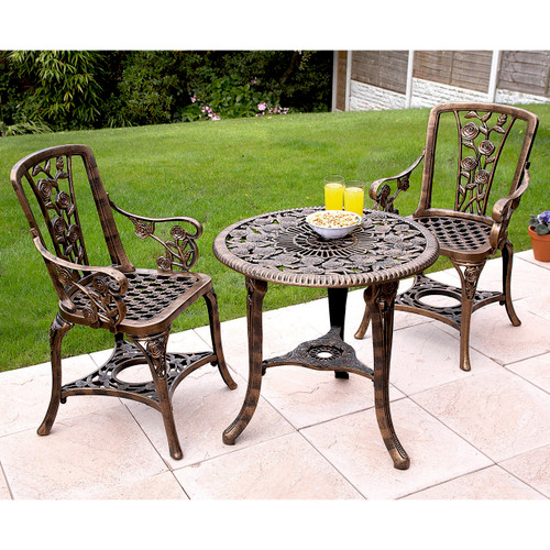All-weather Rose Patio Set