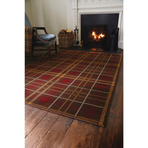 Glenside Polypropylene Tartan Rug and Runner Range
