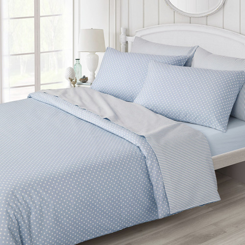 Luxury Legends Plain Flannelette Fitted Sheet