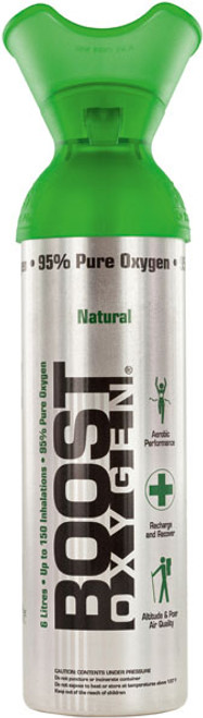 Boost Pure Canned Oxygen - Large 9L