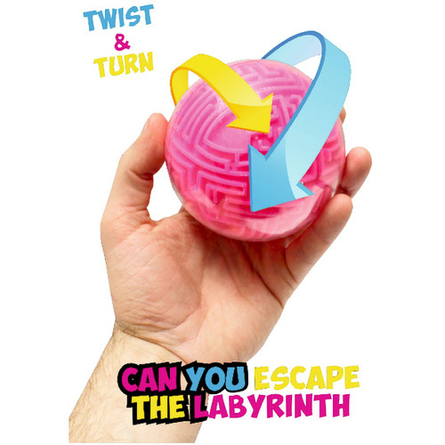 Labyrinth 3D Puzzle Ball