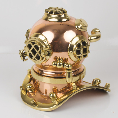 Replica Brass Diving Helmet