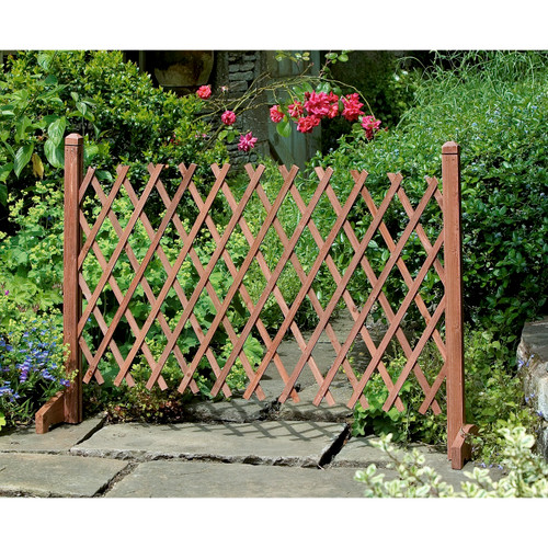 Expanding Wooden Fence (just under 2m wide)