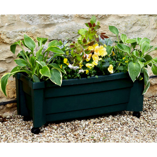Rissington Self-Watering Wheeled Planter