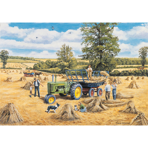 1,000 Piece Jigsaw - A Family Harvest