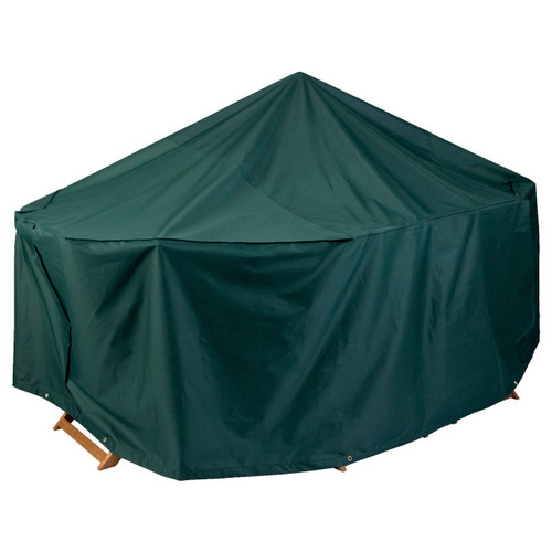 Weather-Proof 4-Seater Rectangular Patio Set cover