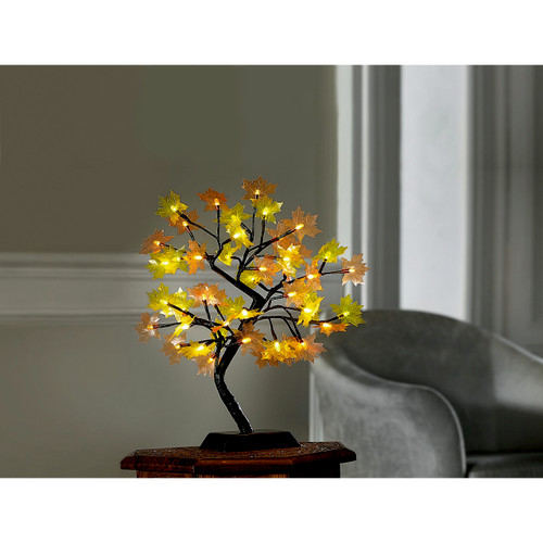 Illuminated LED Maple Tree