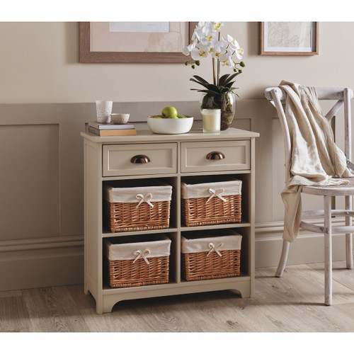Winchcombe Storage Cabinet with Baskets