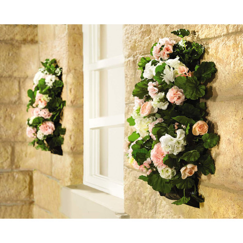 Hanging Flower Sleeve Planters - Pack of two