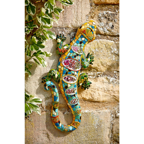 Gecko Garden Wall Art