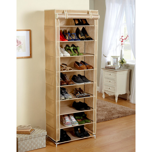 Fabric Shoe Rack Wardrobe