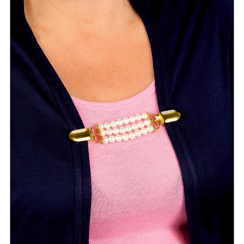 Pearl Cardigan Clips - Pack of 2