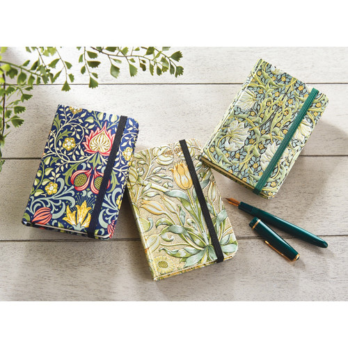 Arts and Crafts Style Notebooks - Set of 3