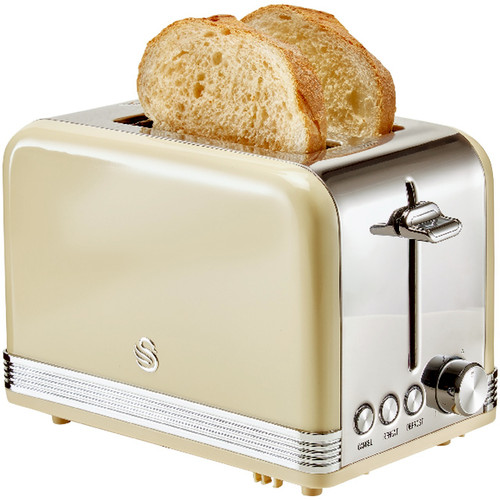 Swan Retro 2-slice Toaster