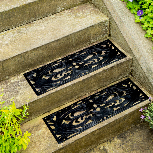Rubber Step Mats - Set of 2