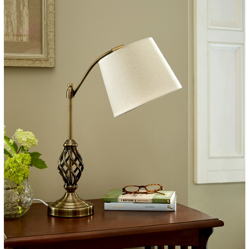 Barley Twist Reading Lamp with FREE 4W LED Bulb