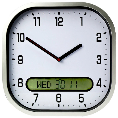 Clear Time Wall Clock