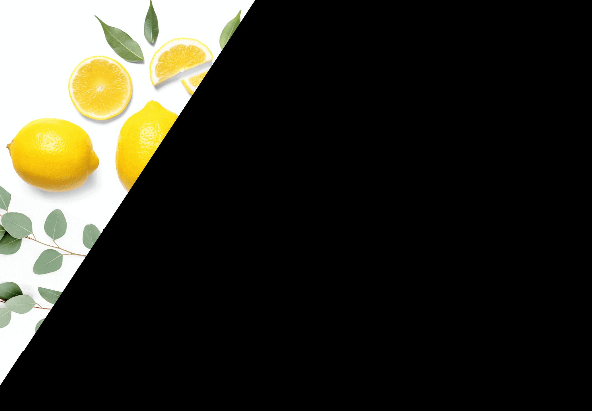 Eucalyptus and lemon