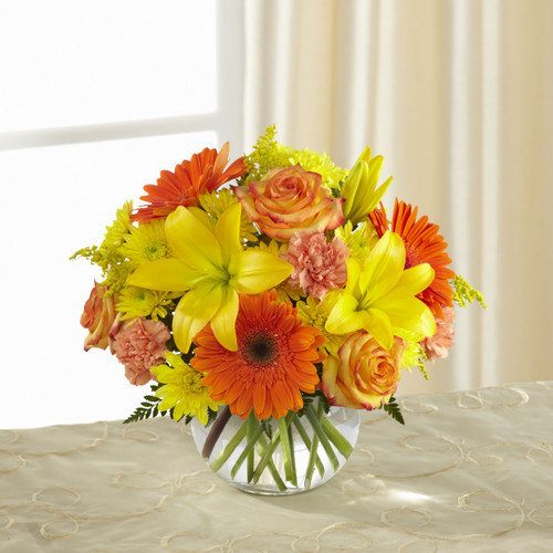 The FlowerLoft's Vibrant Views Bouquet