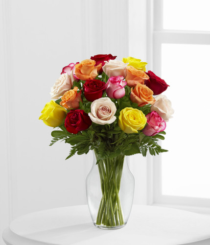 The FlowerLoft's Enchanting Rose Bouquet