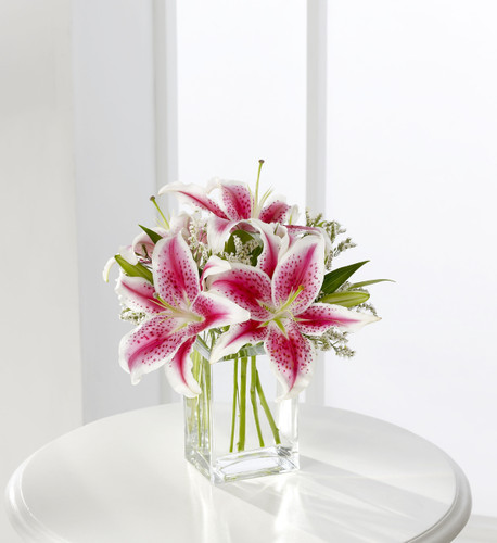 The FlowerLoft's Pink Lily Bouquet